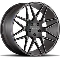 Zenetti After Market Wheels - Milan Stain Black