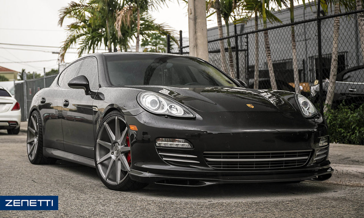 Zenetti Wheels Porsche Panamera Wheels Luxury And