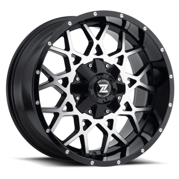 Zenetti Zen Lifted Storm - Black Machined
